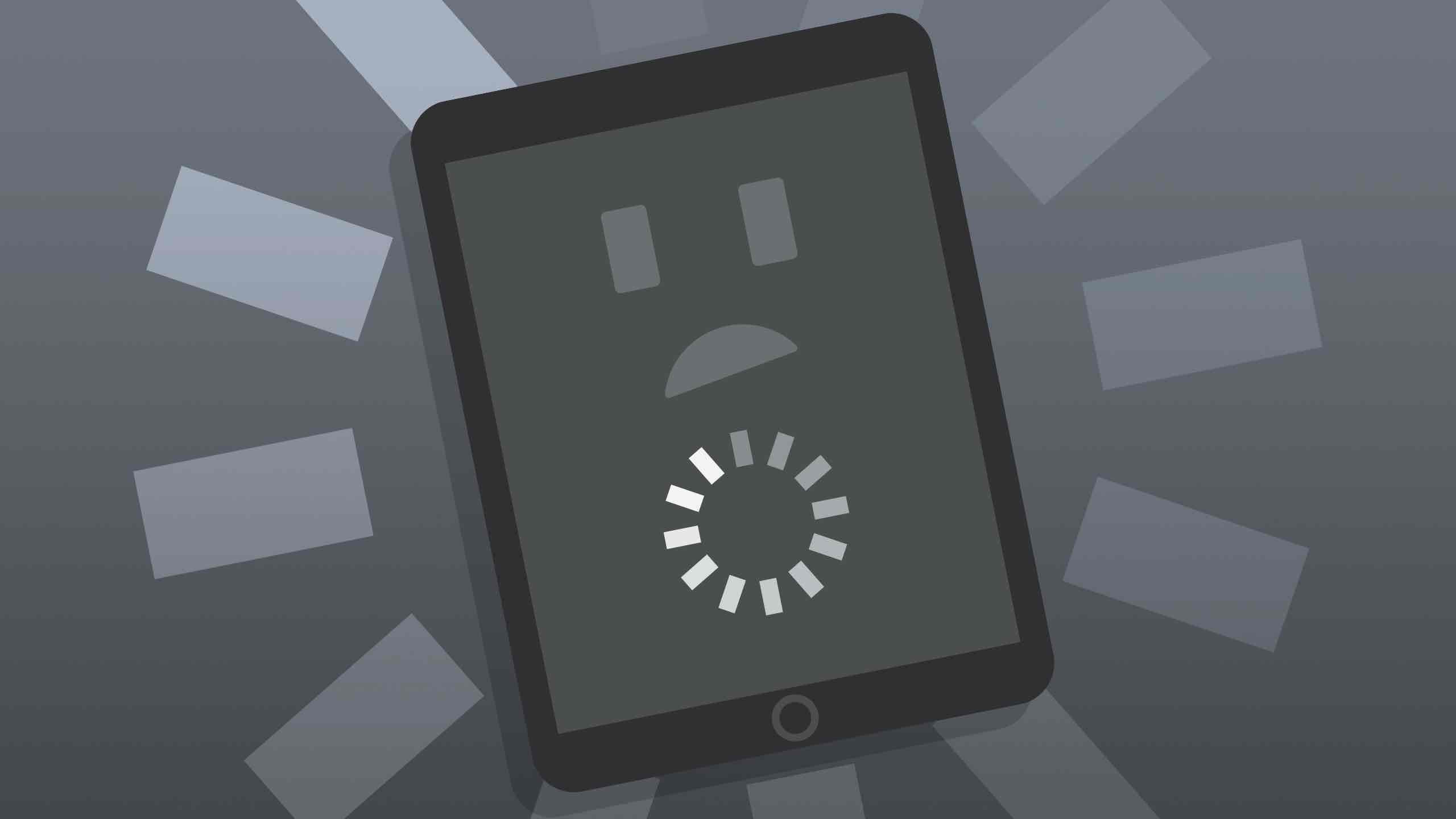 iPad Screen Keeps Freezing