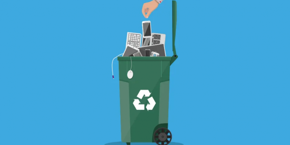 unused devices are e-waste too