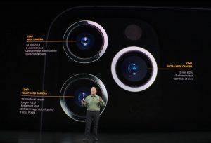 The three camera setting