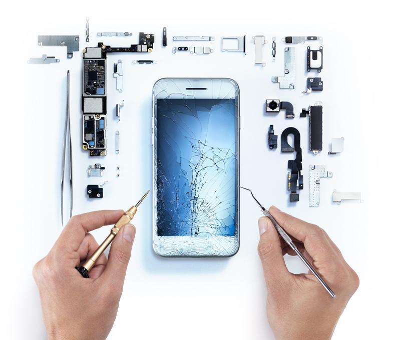 hardware damage iphone